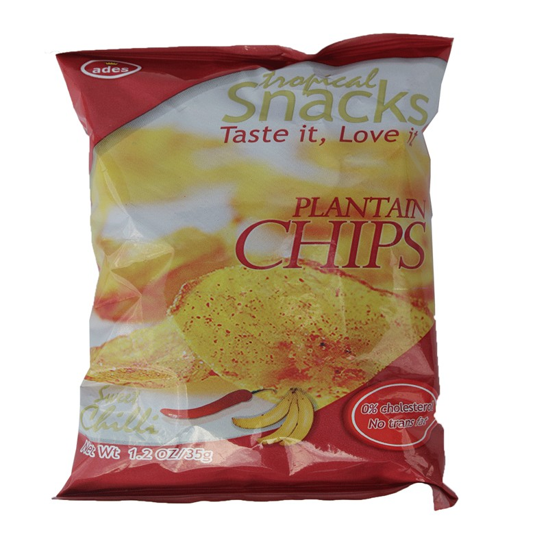 Ades Sweet Chilli Plantain Chips 35g