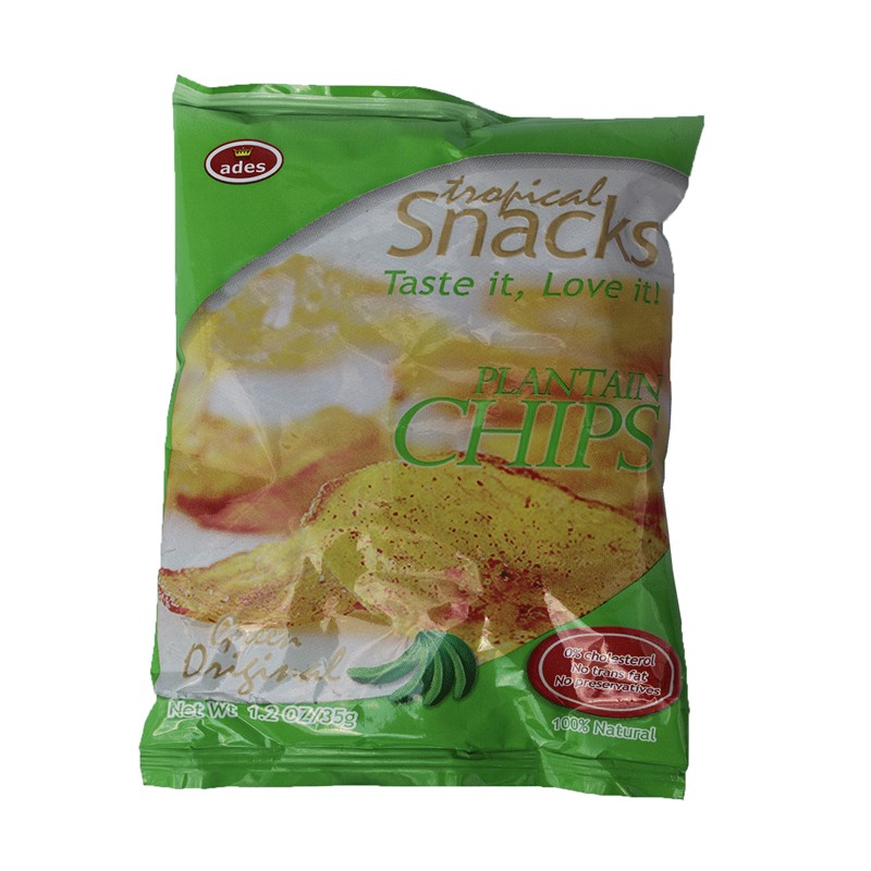 Ades Green Plantain Chips 35g