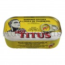 Titus Sardines Vegetable Oil Hot & Spice 125g