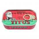 Titus Sardines In Tomato Sauce 125G