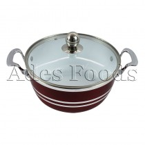 Professional Cookware Die-Cast Pot Ceramic Ruby 24cm