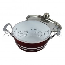 Professional Cookware Die-Cast Pot Ceramic Ruby 20cm