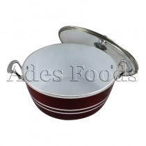 Professional Cookware Die-Cast Pot Ceramic Ruby 28cm