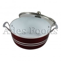 Professional Cookware Die-Cast Pot Ceramic Ruby 32cm
