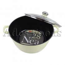 Professional Cookware Die-Cast Pot Cream 28cm