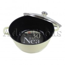 Professional Cookware Die-Cast Pot Cream 30cm
