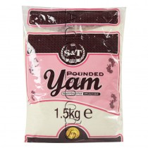 S&T Pounded Yam 1.5 Kg