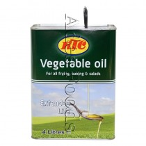 Ktc Vegetable Oil 4Ltr