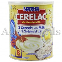 Cerelac 3 Cereals with Milk 400g