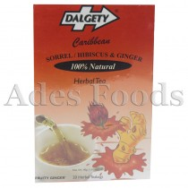 Dalgety Sorrel / Hibiscus & Ginger Herbal Tea 40g