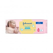 Johnson Baby Wipes 85s