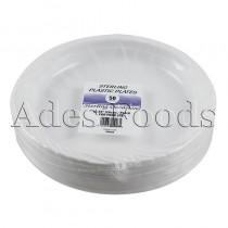 "Sterling Plastic Plates 10.25"" 50pcs"