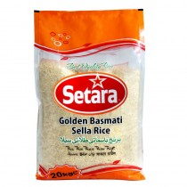 Setara Golden Basmati Sella Rice 20kg