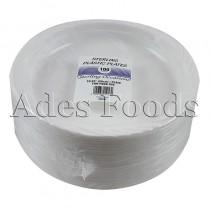 "Sterling Plastic Plates 10.25""x100pcs"