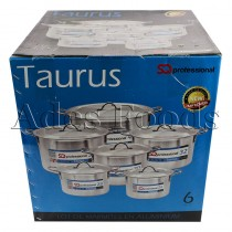 Professional Cookware Stock Pot Taurus Box Size 8.5 - 30 Ltrs