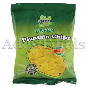 Olu Olu Plantain Chips Green 60g
